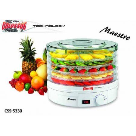Dehidrator hrane- Aparat za sušenje voća i povrća CSS-5330 250w COLOSSUS