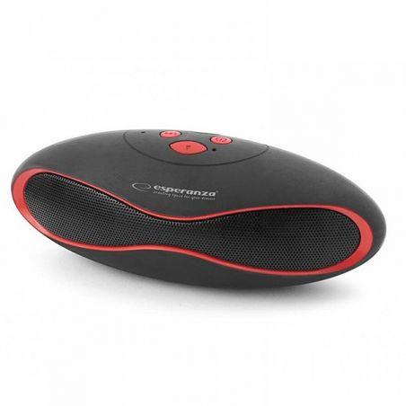 Bluetooth zvučnik crno-crveni Esperanza EP117KR